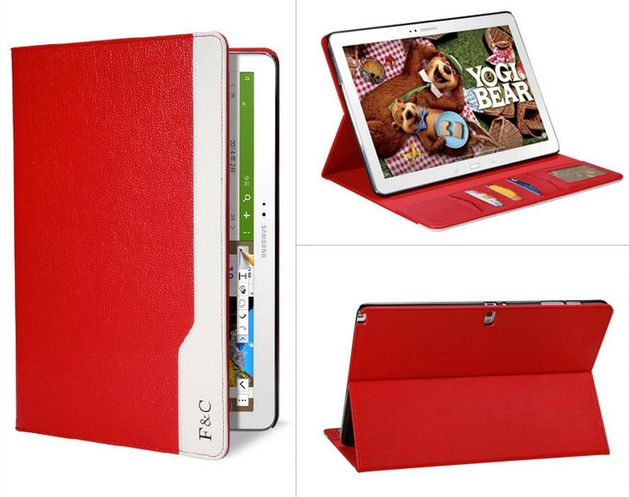 F&C Samsung Galaxy Note Pro 12.2 SM-P900 P901 Flip Book Case Cover
