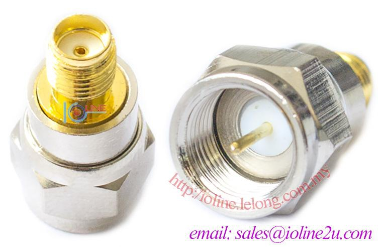 F male to SMA Female converter adapter for 3G Modem router AP WIFI