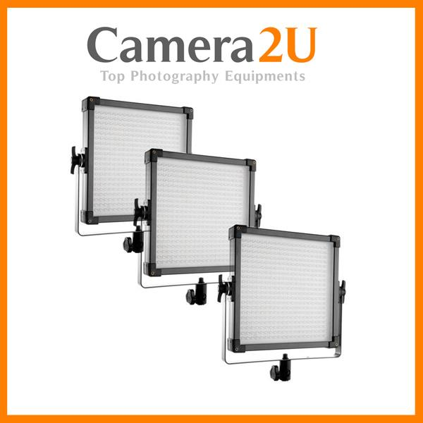 F&V LIGHTING K4000 DAYLIGHT LED STUDIO PANEL (3 LIGHTS SET)