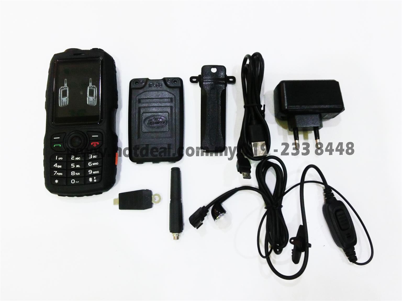 F18 zello phone walkie talkie