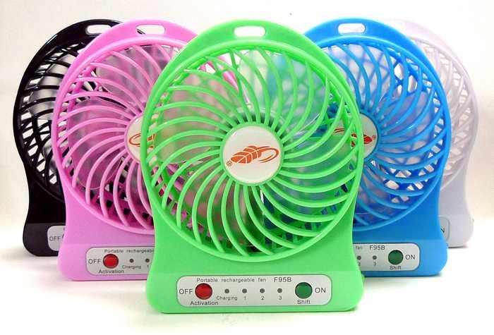 Portable Sports Fan : F b portable fan rechargeable batt end  am