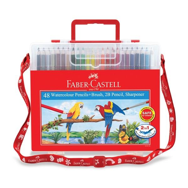 Faber-Castell Watercolour Pencils 48 L in Wonder Box