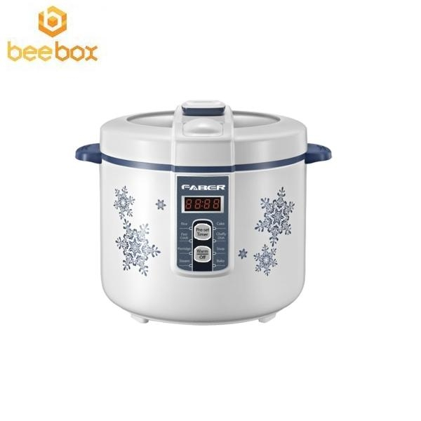 Faber Jar Rice Cooker RUBY18D Deluxe White