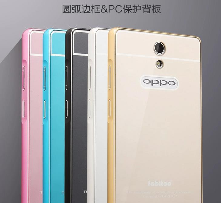Fabitoo Oppo Mirror 3 Aluminium Bumper Case Cover Casing + Free SP