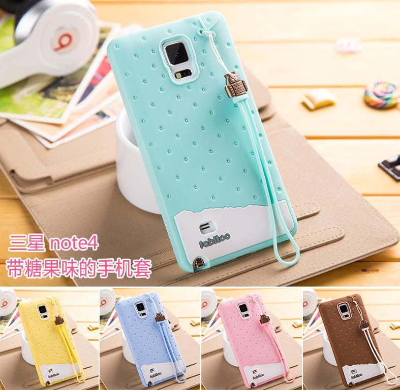 competitive price 62057 dab20 Fabitoo Samsung Galaxy Note 3 4 Silicone ShakeProof Back Case Cover