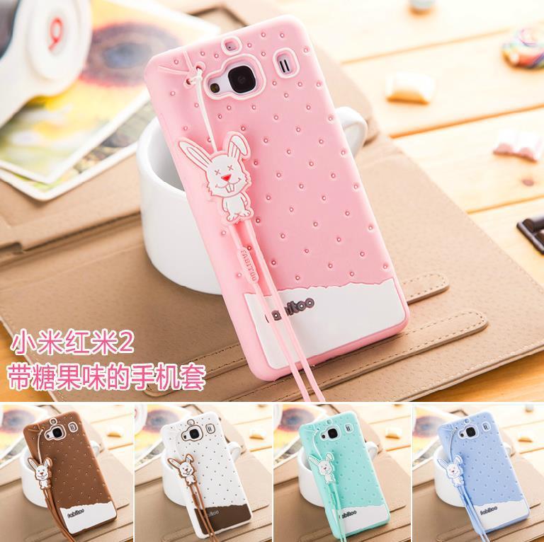 more photos debb8 09ef4 Fabitoo Xiaomi Redmi Hongmi 2 MI4 Mi 4 Silicone Case Cover + Free SP