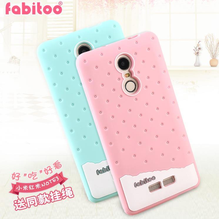 Fabitoo Xiaomi Redmi Note 3 Silicone Case Cover Casing + Free Gift