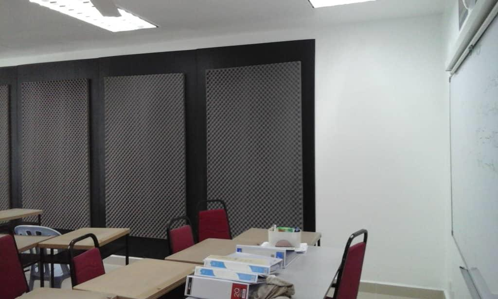Fabric acoustical wall Malaysia