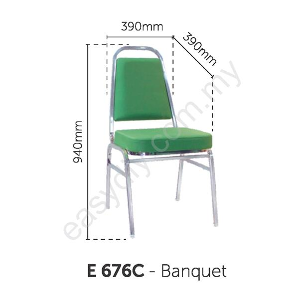 Fabric Banquet Chair | Banquet Chair - E 676C