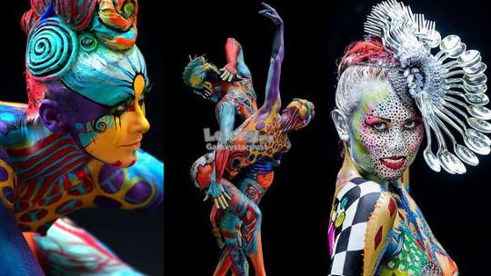 Face Body Paint-Palette-Cosplay Party Event Drama FX Special Effects