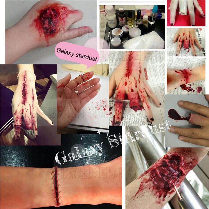 Face,Body Paint,Special Effects,Rigid Collodian,Scar Wax,Latex,Blood万&
