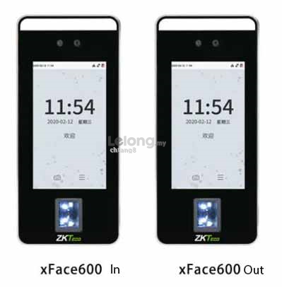 Face  Fingerprint Door Access Time Attendance XFace600 In Out