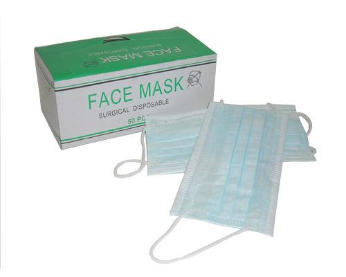 Face Mask 3 ply 50's