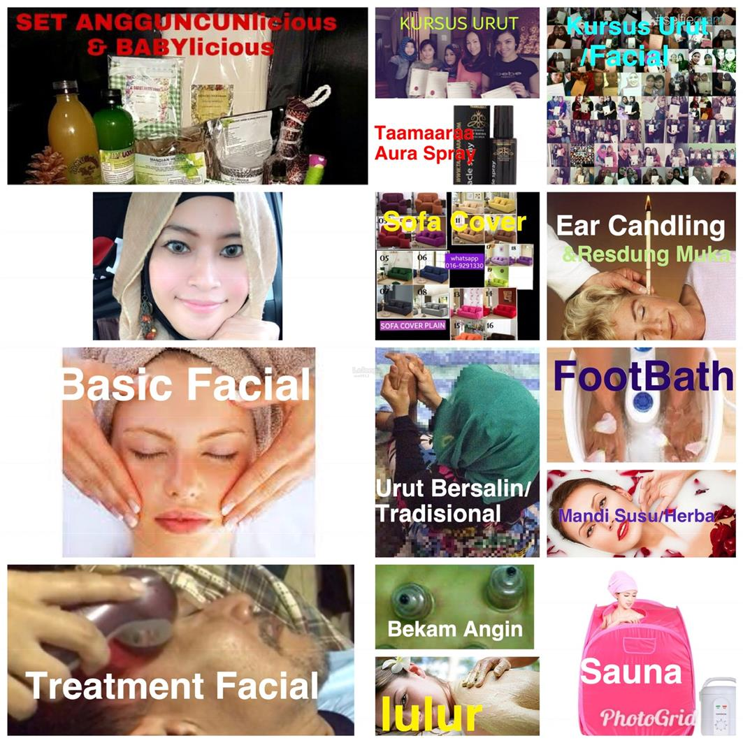 FACIAL MOBILE SPA LULUR FOOTBATH SAUNA MANDI SUSU MANDI HERBA HERBAL