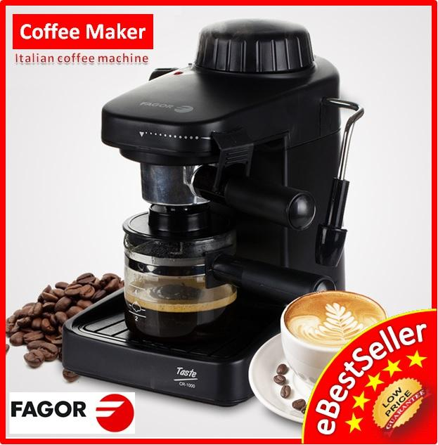 Fagor CR 1000 Italian Espresso Cappuccino 5Bar Coffee Maker Machine