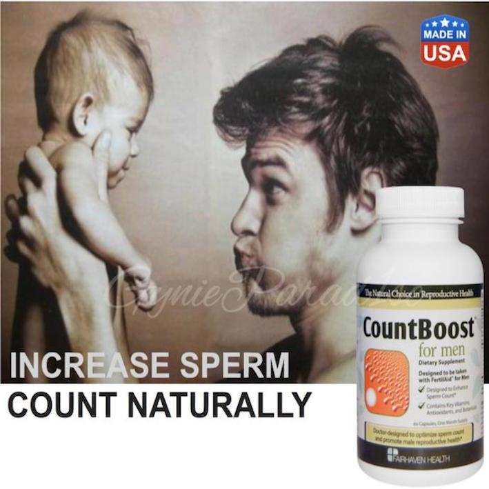 Fairhaven Health CountBoost for Men (Fertilaid, Speman) USA
