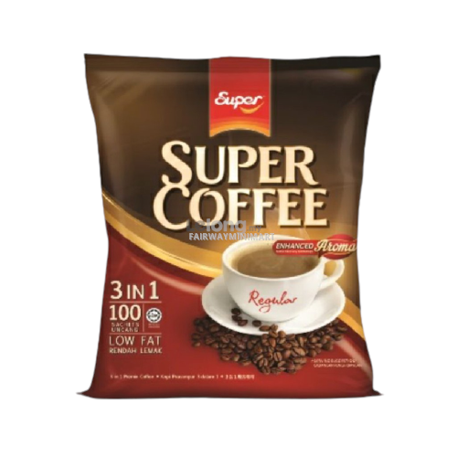Fairway MiniMart - SUPER Coffee 3 in 1 Regular, 100 stick