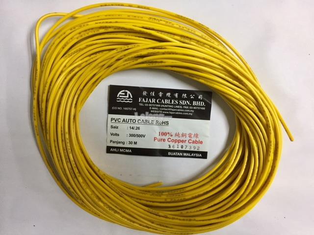 Fajar Cables 14026mm Carlorry Aut End 6282020 315 Pm