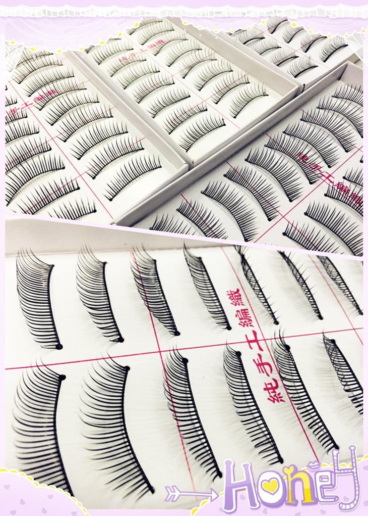 Fake Eyelashes Natural Type (Few Types)