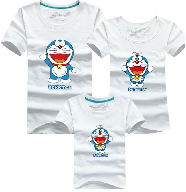 d1424701 Family T Shirt Set (Doraemon Adult Couple Men Women / Kids Boy Girl)