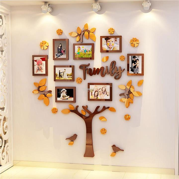 Family Tree Frame Collage Pictures Frame Collage Photo Wall Mount Deco