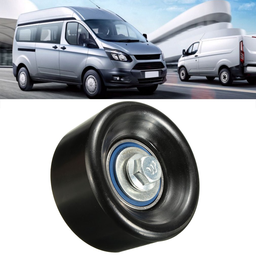 Fan Belt Idler Pulley 75mm Pulley Block Tensioner For Ford for Transit..