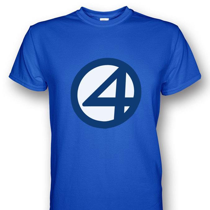 Fantastic Four Symbol Royal Blue T-s (end 4/1/2019 12:00 AM)