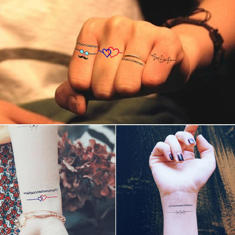 Fashion Art Tattoo Stickers (Ring)