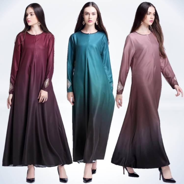 {Fashion Clickers} Gradient Jubah Dress 0435