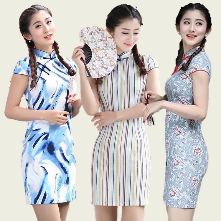 {Fashion Clickers} Retro Cheongsam 11 Designs (S to 2XL) 1584
