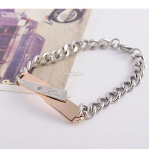 Fashion Couple Cross Style Bracelet