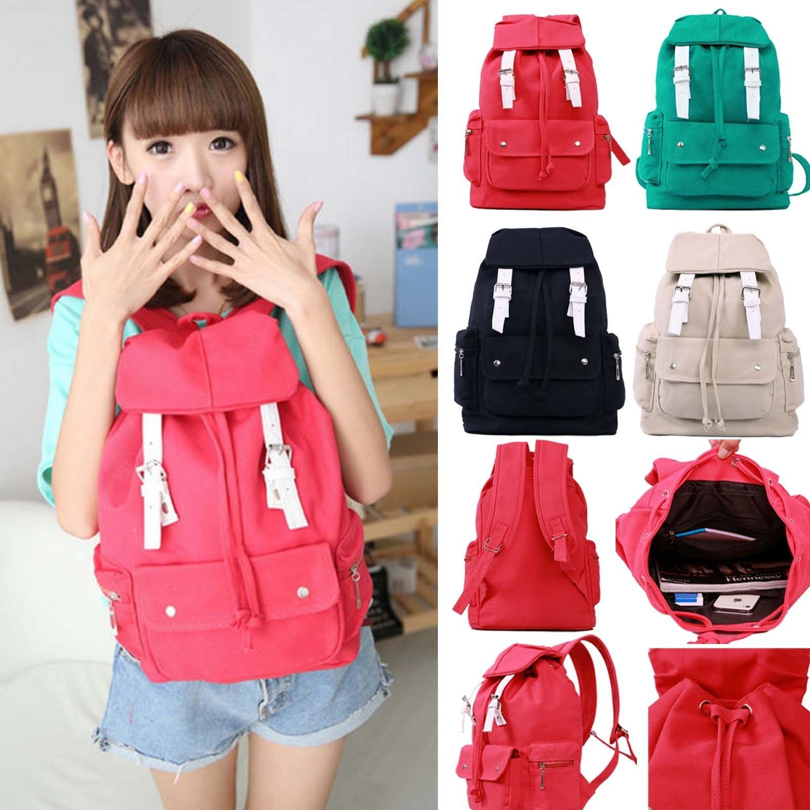 Fashion Cute Casual Punk Girl Canvas (end 5 4 2017 5 30 PM) d16ed2b09