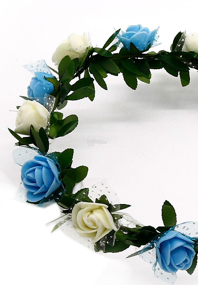 Fashion Hair Accessorieas Garden Garland Wreath Headband Headpiece