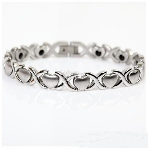 Fashion Heart Links Bracelet