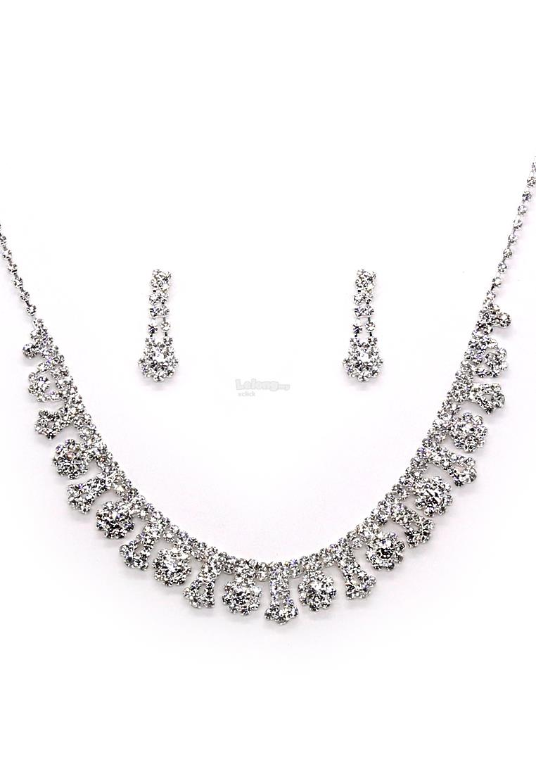 Fashion Jewelry Accessories Special Occasion Necklace & Earrings Set
