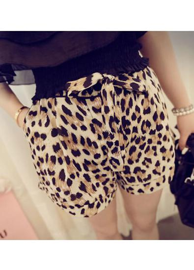 Fashion Leopard Shorts