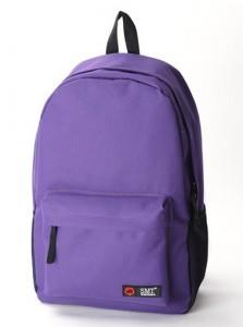 Fashion Nylon Backpack 15480 (Dark Purple)