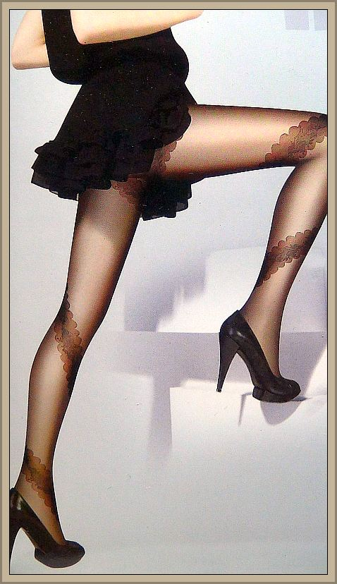 Silky smooth pantyhose words... super