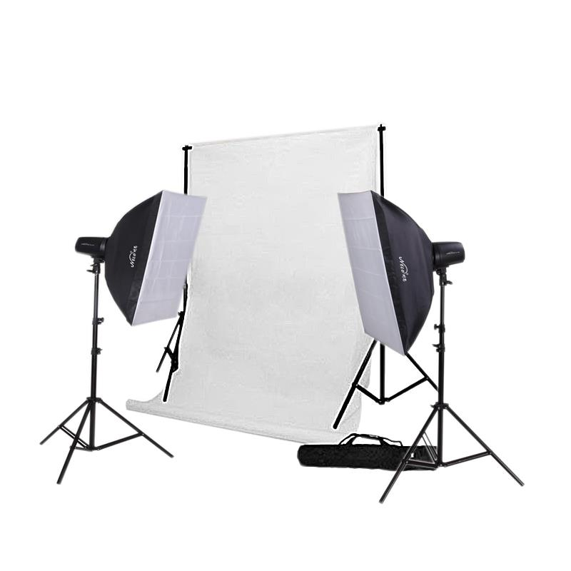 Fashion Photo Studio Starter Kit 180w - Studio Flash Strobe Package