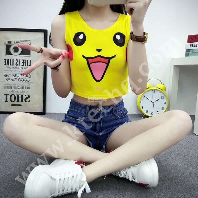 Fashion Pokemon Go Cartoon Cute Girl End 992018 915 Am-1792