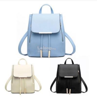 New Fashion PU Leather Backpack Women Travel bag Student Backpack 4fc036b24c0e1