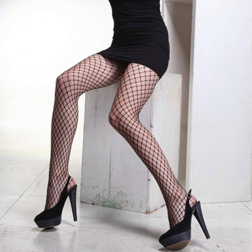 Fashion Sexy Broad Fishnet Pantyhose