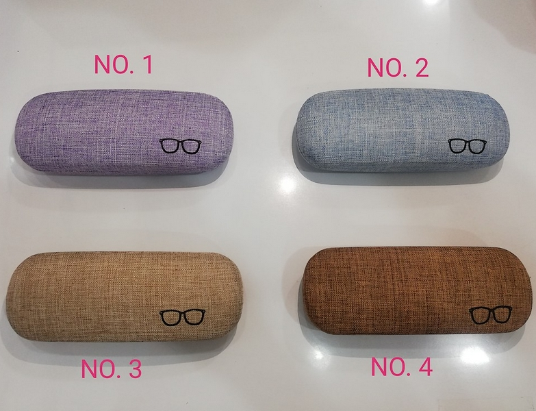 Fashion Spectacles Eye Glasses Hard Case Storage Box Casing 1pc