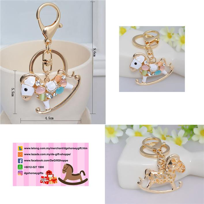 New Fashion Trojan horse key chain bag clasp