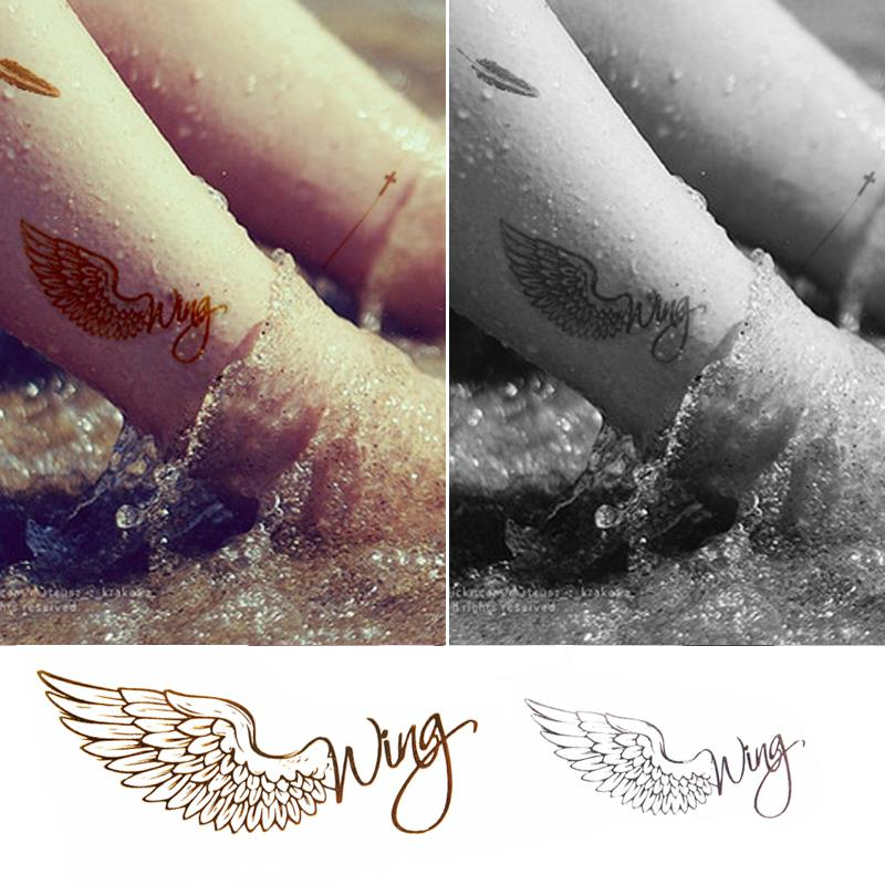 Fashion Waterproof Metal Tattoo Stickers HC-5005