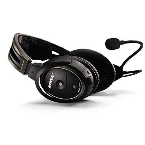 ...Fast Delivery Bose® A20 Aviation Headset (Battery-powered w/Bluetooth, Ele