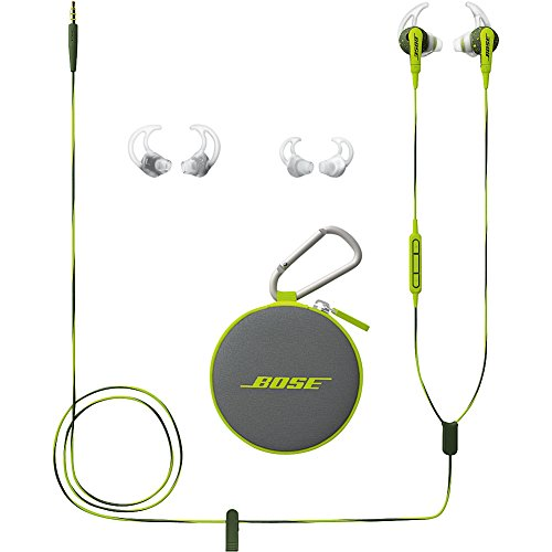 ...Fast Delivery Bose SoundSport In-Ear Headphones w/Mic (Apple) (Red)