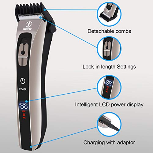 ...Fast Delivery CEENWES Hair Clippers for Men Professional Hair trimmer Water