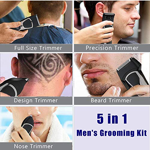 ...Fast Delivery Electric Beard Trimmer for Men, Men's Hair Clippers Cordless