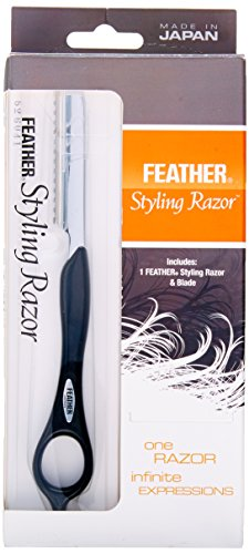 ...Fast Delivery Feather Styling Razor Black
